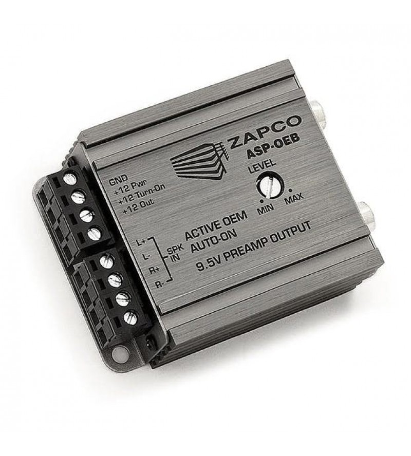 Hi-Low adapter z remote Zapco ASP-OEB (2 kanalni)